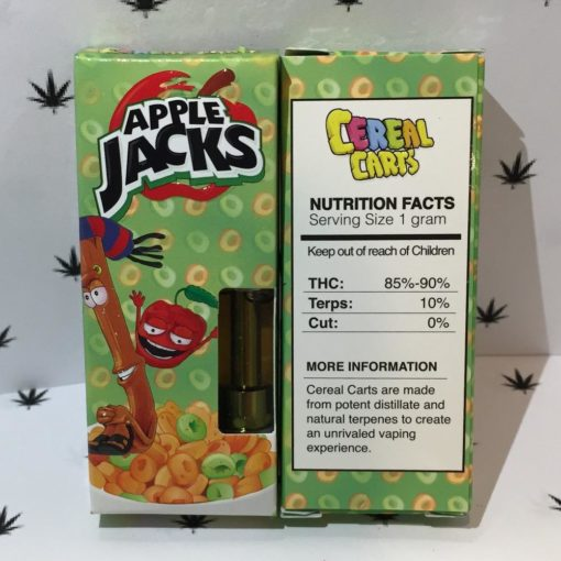 buy apple jack cereal carts online